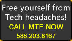 Call MTE Now! 586.203.8167